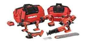 Hilti 18v Cordless Tools