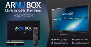 ARNU Box Android & Pure Linux Media Player's Sale FREE UPDATES!