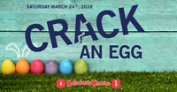 Crack an egg at Scholars Choice Barrie!