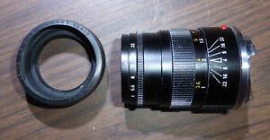 Leica Lens Leiz Wetzlar 90mm f/4 Elmar - C with Sony NEX adapter Gatineau Ottawa / Gatineau Area image 2