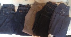 5 pairs of jeans/cords
