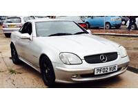 Mercedes-Benz SLK200 Kompressor 2.0 Petrol Automatic