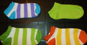 Nevada - 4 Pairs of Girls Ankle Socks - 4T-5T