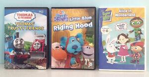 Thomas Train / Blues Clues / Super Why DVDs
