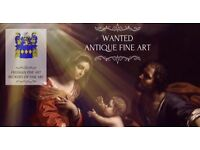 Wanted antique paintings and art