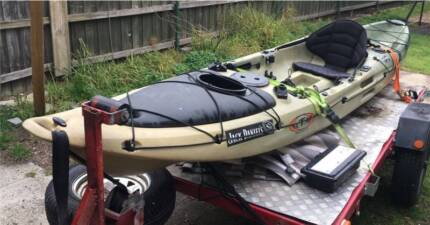 """Fishing Kayak K-Lago RTM K-Largo 14' 6"""" 200kg Capacity"""