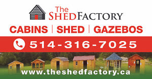 cabanon / shed / cabins /