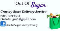 """""""Out of Sugar"""" Personal Grocery Shopping and Delivery!!"""