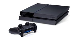 PS4, a controller and WWE 2k15
