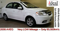 REDUCED!!--2008 Chevrolet Aveo LS Sedan---LOW MILEAGE--only 60K!