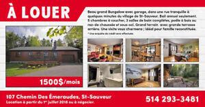 Maison à louer - Saint-Sauveur