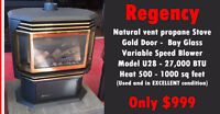 GREAT deal - second hand REGENCY propane Stove from SUNPOKE