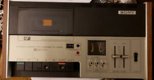 Sony Tc-135sd vintage tape Deck Amazing condition PICKUPONLY