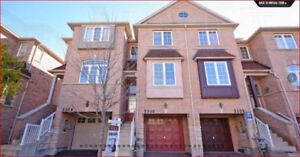 3br townhome for rent 10th/Derry Mississauga