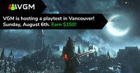 ★$150 Video Game Playtest in Vancouver★