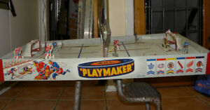 1950's NHL Playmaker Table-top Hockey Game  Leafs vs. Habs