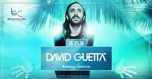 David Guetta @ BeachClub on May 28th 2016