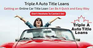 Get The Best Car Title Loan in Vancouver...And Keep Your Car!