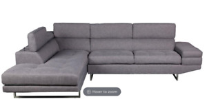 Sectional Couch NP & NS - left facing - less than a year old