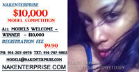 $10,000 Modeling Competition  (All US  & Canada)
