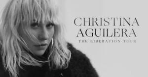 2 Christina Aguilera tickets at Casino Rama- Section N, row 20