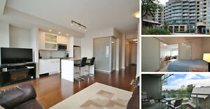 Chic 1 Bed Bachelor Condo in Westboro - QWest - Abbey Cour