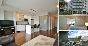 Chic 1 Bed Bachelor Condo in Westboro - QWest - Abbey Court