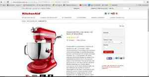 KitchenAid PROLINE Standmixer with Lift London Ontario image 1