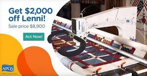 Longarm machine sale APQS Lenni! On Sale Now! Kawartha Lakes Peterborough Area image 1