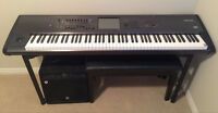 KORG KRONOS X 88 KEYBOARD SYNTHESIZER WORKSTATION (88-KEY)