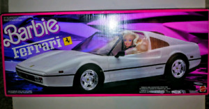 Barbie-1988 White Ferrari