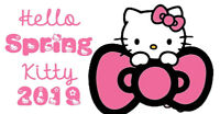 Don't miss the Annual Hello Spring Kitty Cat Show!!