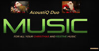 NOW BOOKING FOR ALL YOUR CHRISTMAS AND FESTIVE MUSIC