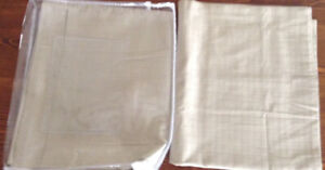 2- Brand New King Size Pillow Covers