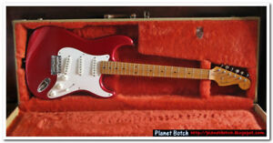 Fender Strat (Made in Japan) with maple fretboard