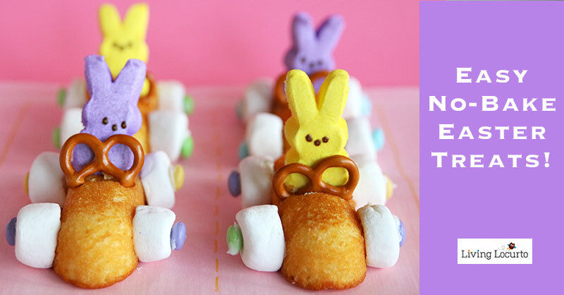 Racing Rabbit Easter Treats by Living Locurto