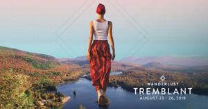 Tickets to Wanderlust - - Mont Tremblant