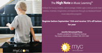 Piano/Keyboard Lessons for Children Ages 2 and up
