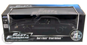 Fast & Furious BUICK GRAND NATIONAL 1/18 scale diecast