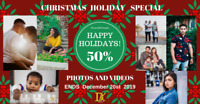 Photographer Holidays Special discount