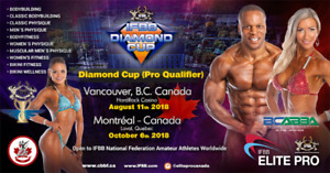 Selling IFBB Diamond Cup Vancouver - Finals Show Tickets, Aug 11