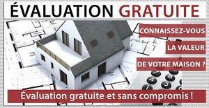 Évaluation immobilère gratuite en ligne-Maison à vendre