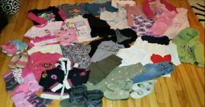 Lot 40+ pieces de vetements 4-5 ans, clothes 4T, 5T, clothing,