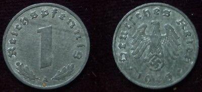 1 Reichspfennig - 1943 A - Deutsches Reich - Drittes Reich  (691)