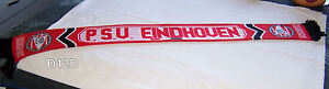 PSV-Eindhoven-Red-Black-Mens-Jacquard-Warm-Football-Soccer-Scarf-New