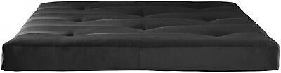 Black 6 Tufted Futon Mattress Soft Sofa Bed Couch W/ Sturdy