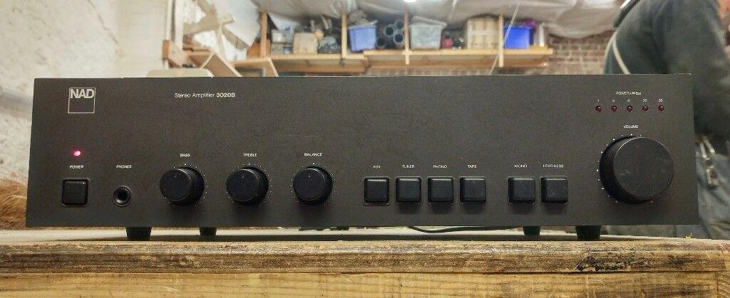 Vintage NAD 3020B Integrated Stereo Amplifier