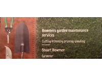 Bowmers garden maintenance services