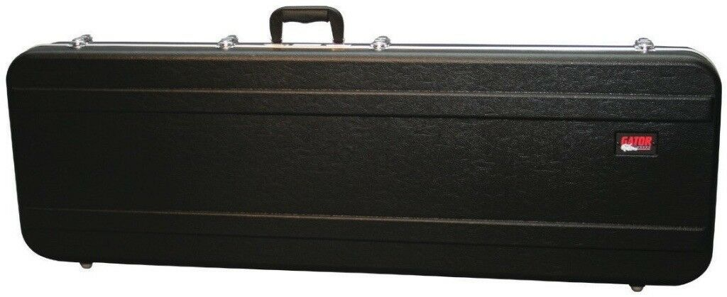 Gator bass guitar case.