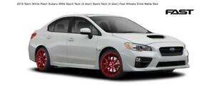 2015 SUBARU WRX SPORT TECH 18 RED DIME RIM & TIRE COMBO WE HAVE ALL MAKES avail!
